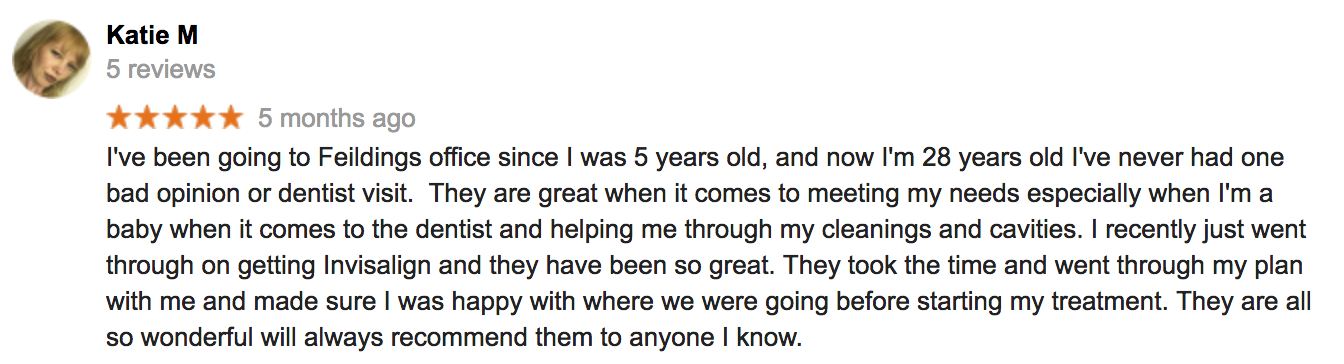 Review by Katie M